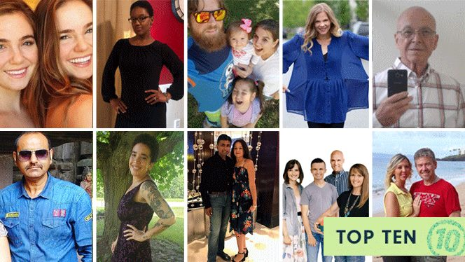 Forks Over Knives' 10 Most Popular Success Stories of the Past Decade