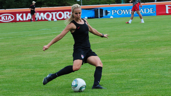 Catching Up with 3-Time Olympic Gold Medalist Heather Mitts